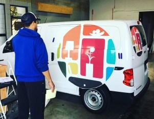 td vehicle wrap van