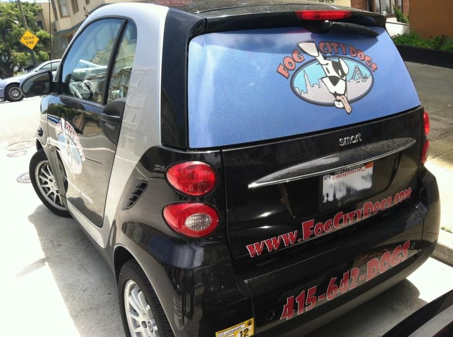 Fog City Smartcar Wrap