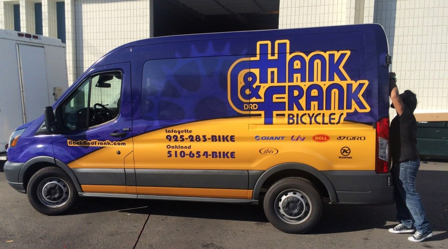 Van Wrap for Hank & Frank Bicycles
