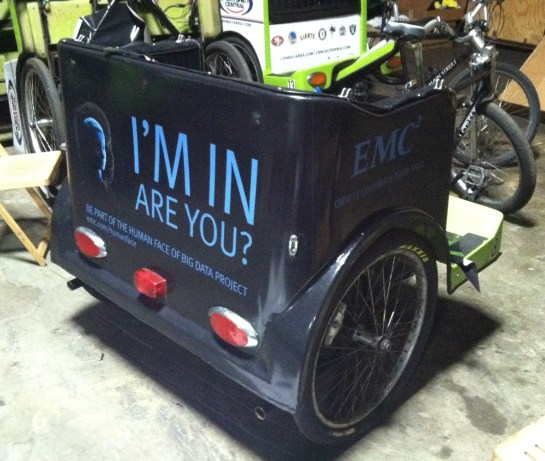 Bike Cart Wraps for DellEMC