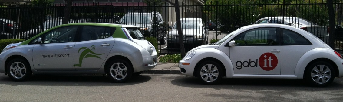 Car Wrap for Gablit and Webpass