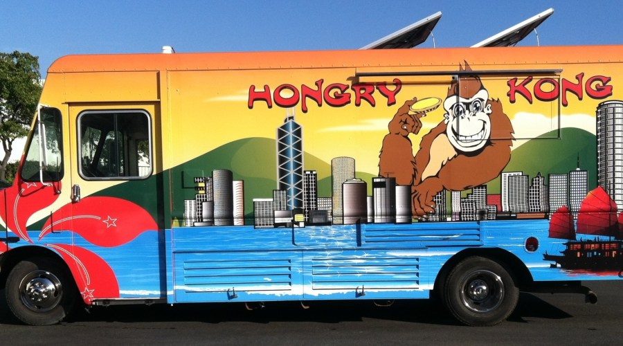 Hongry Kong Food Truck Wrap