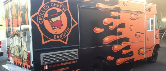 Grilled Cheese Bandits Food Truck Wrap