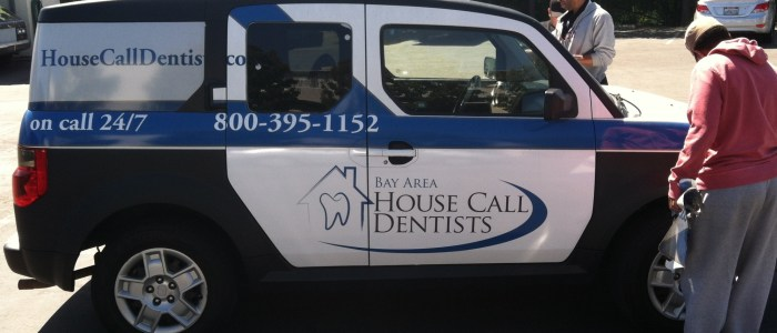 Car Wrap for Bay Area House Call Dentists