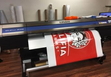 Printing Large Format Wrap