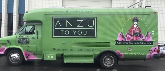 Food Truck Wrap or Anzu & Nikko SF Hotel