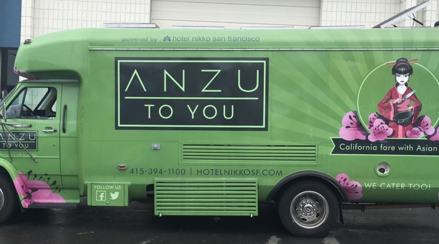 Food Truck Wrap or Anzu & Nikko SF Hotel