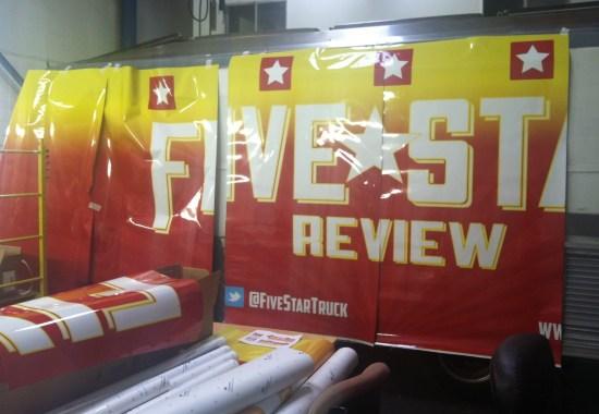 five star food truck wrap-14
