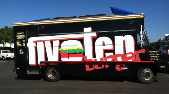 FiveTen Burger Food Truck Wrap