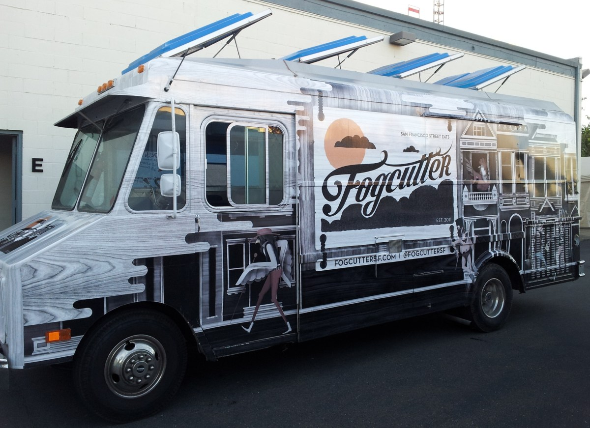Food Truck Wrap For Fogcutter Sf Custom Vehicle Wraps