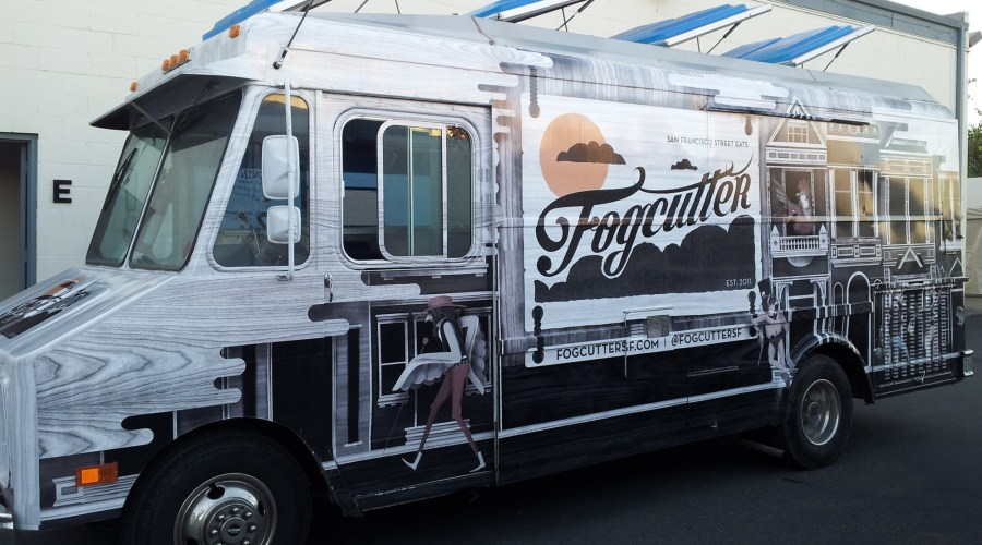 Food Truck Wrap for Fogcutter SF
