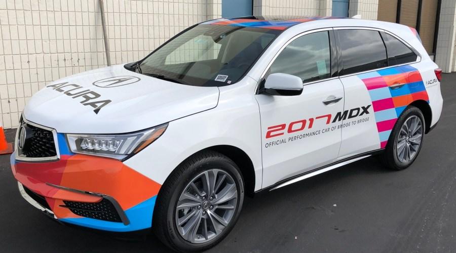 Bridge To Bridge Promo Car Wrap for Acura MDX