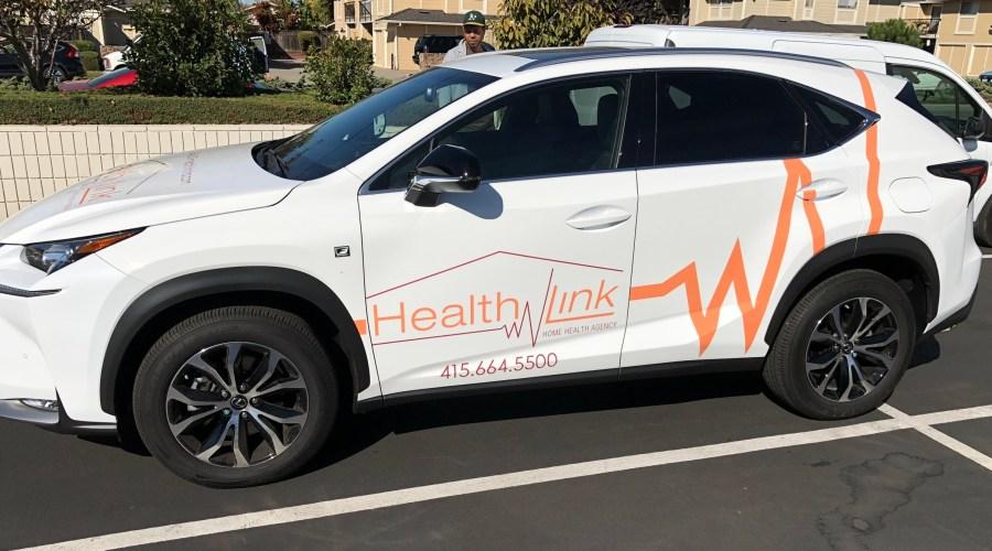Car Wrap for HealthLink Home Health Agency