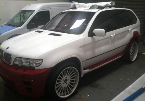 BMW Suv Color Change Wrap-13