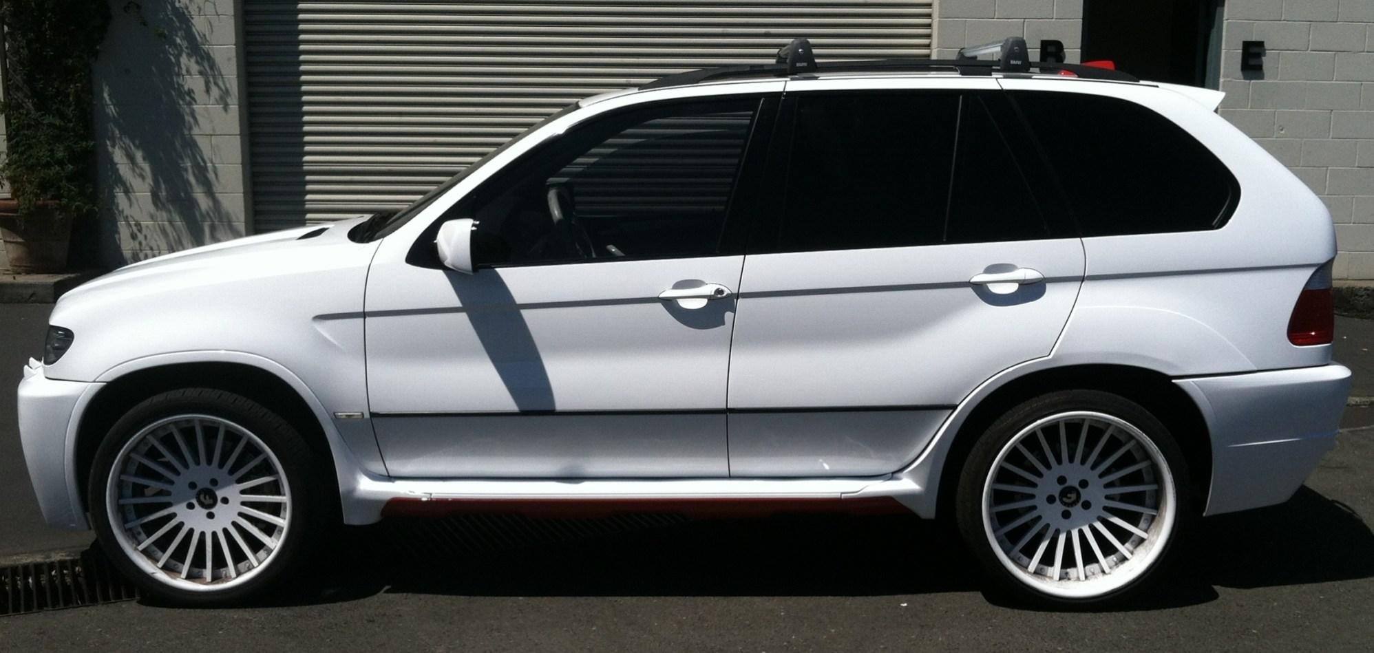 BMW Suv Color Change Wrap-21
