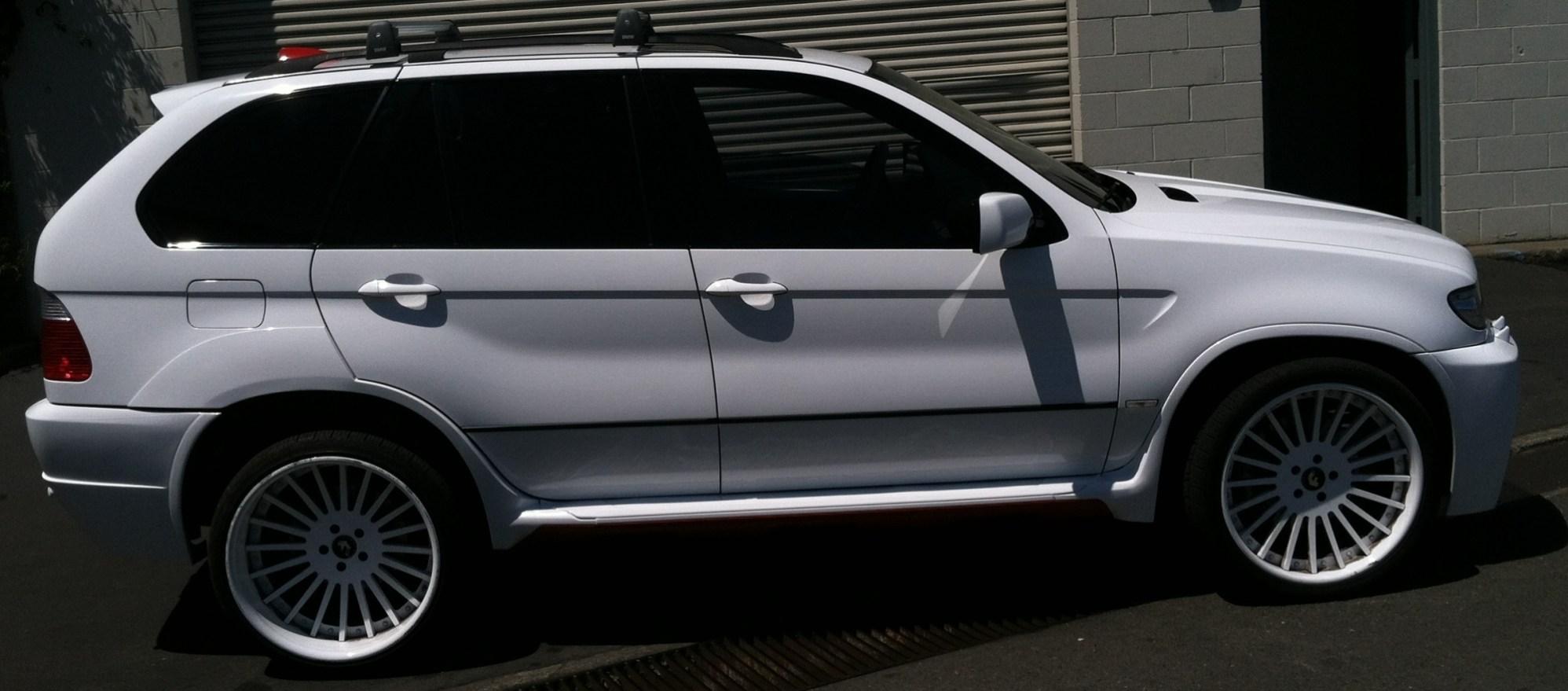 BMW Suv Color Change Wrap-25
