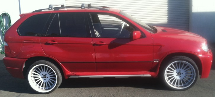 BMW Suv Color Change Wrap