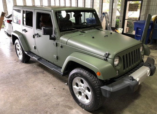 military green matte wrap jeep-10