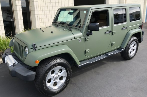military green matte wrap jeep-12
