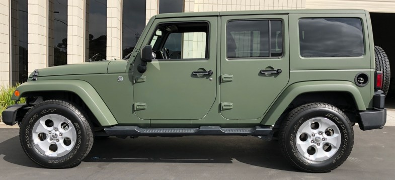 military green matte wrap jeep-13