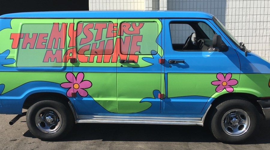Mystery Machine Car Wrap