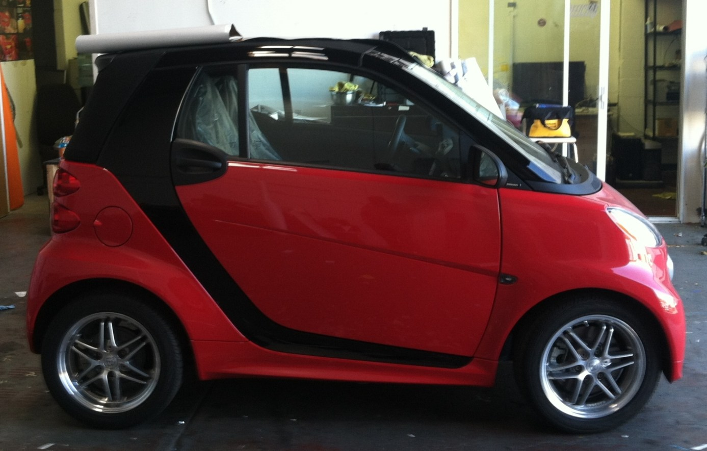 Smartcar Highlight Wrap