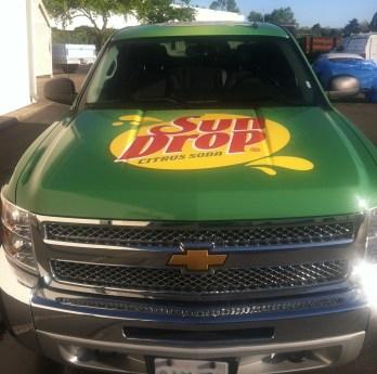 SunDrop Truck Wrap-11