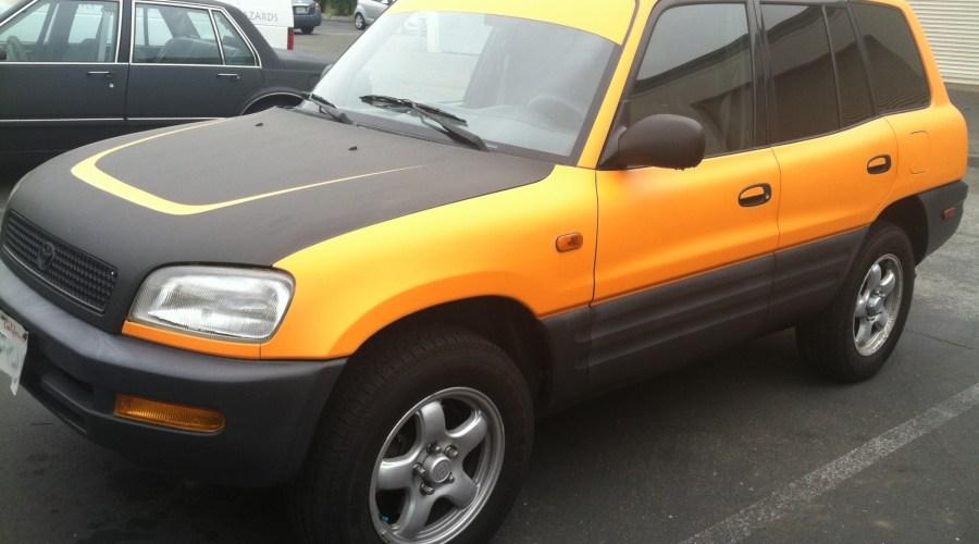 Toyota Yellow Color Change