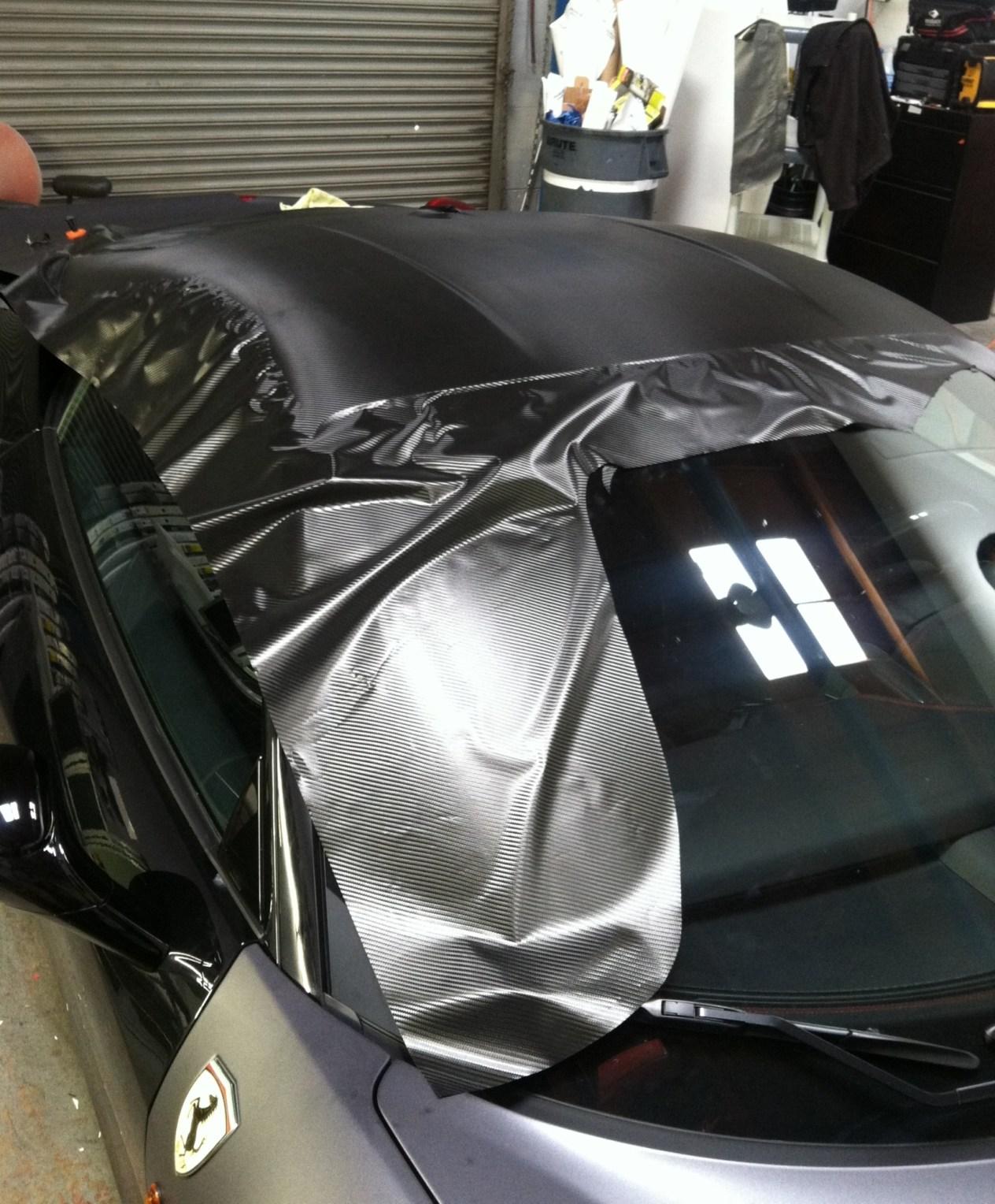 Ferrari Matte Grey Wrap-08