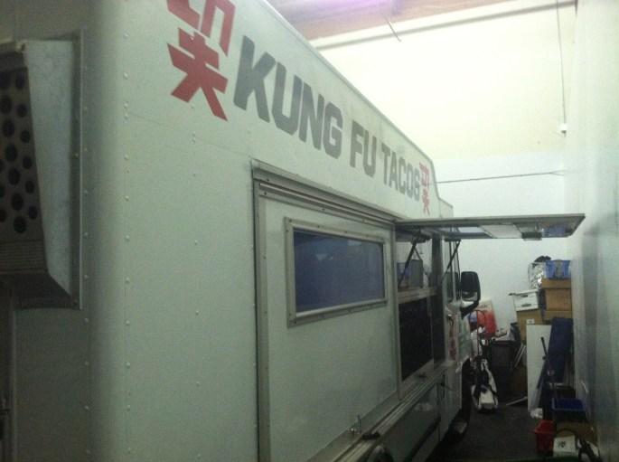 Kung Fu Tacos Food Truck Wrap