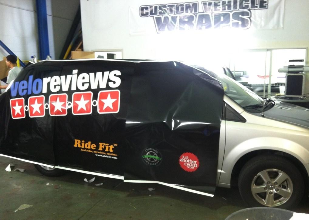 Ride Fit Van Wrap