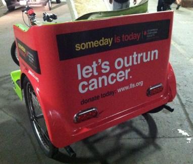 outrun cancer cart wraps