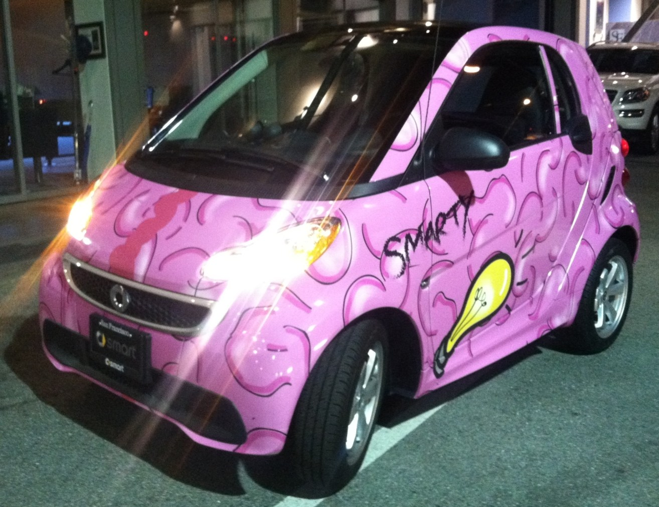 Smart Car Custom Vehicle Wraps