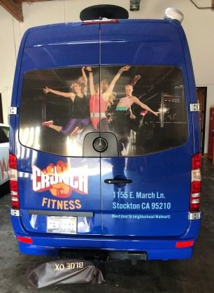 crunch fitness van wrap-01
