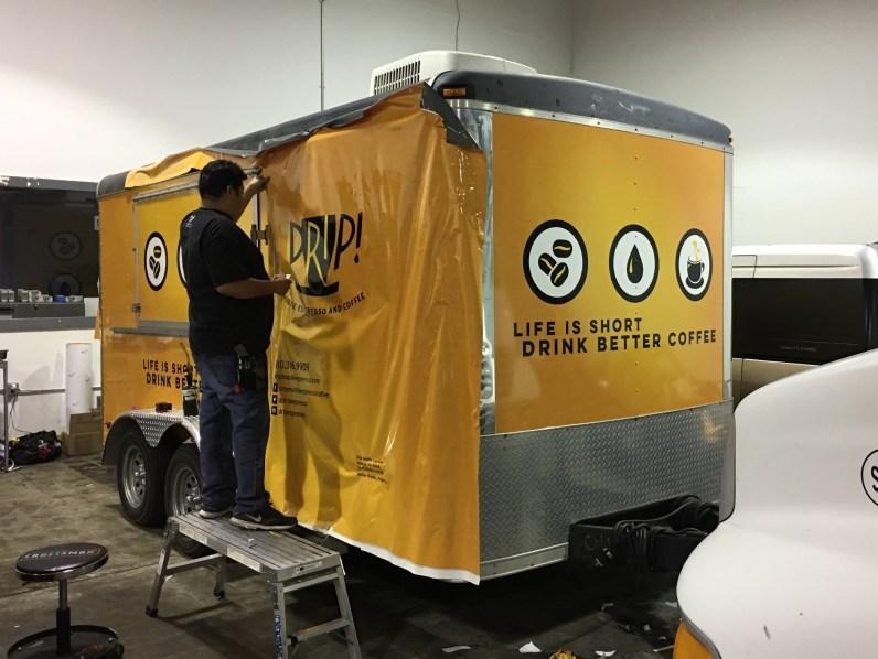 drip trailer wrap