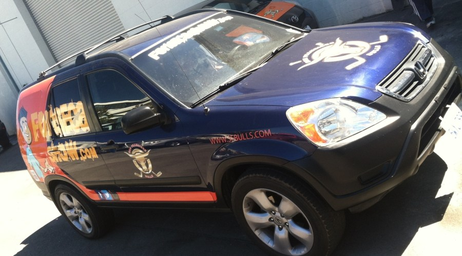 Fonseca Show SUV Wrap