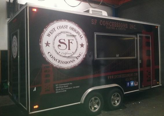 sf concessions trailer wrap