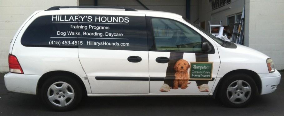 hillarys hounds van wrap-01