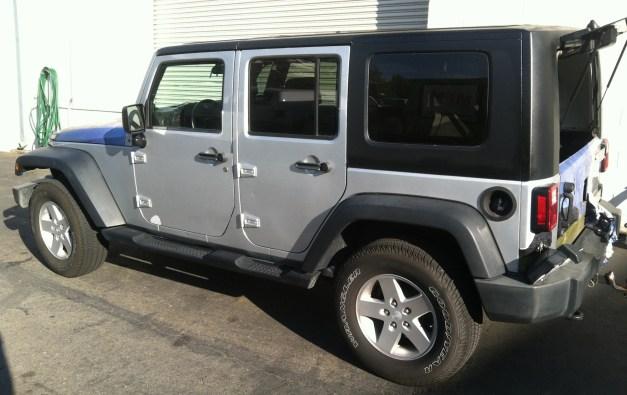 matte black jeep wrap