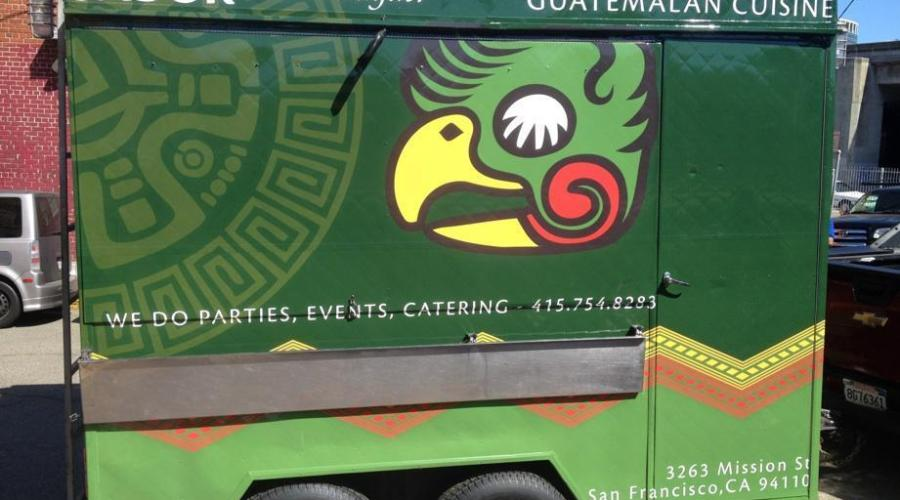 Food Truck Wrap for Sabor de San Miguel