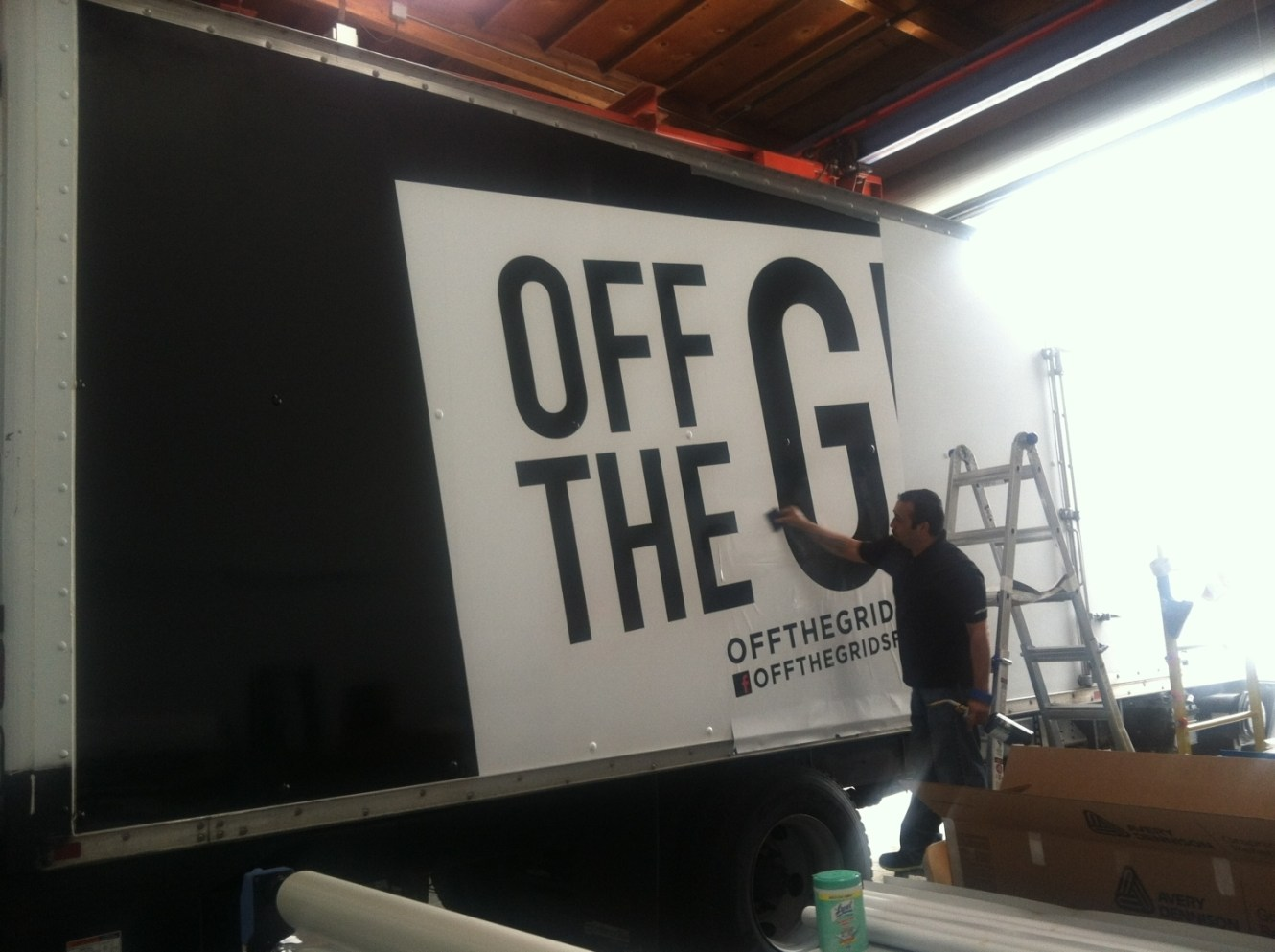 Off The Grid Truck Wrap
