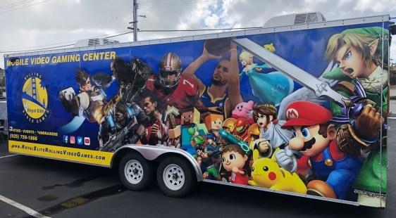 video games trailer wrap