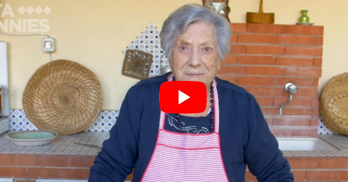 Salemi. A 101 anni nonna Letizia conquista Youtube con le sue videoricette.