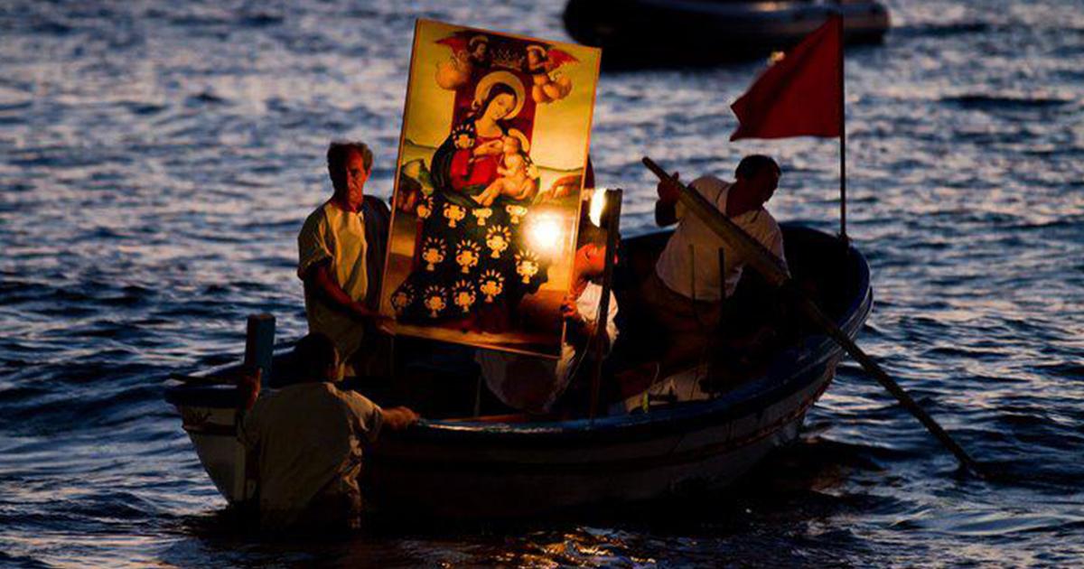 La Vergine venuta dal mare: la leggenda dello sbarco del quadro di Maria S.S. di Custonaci