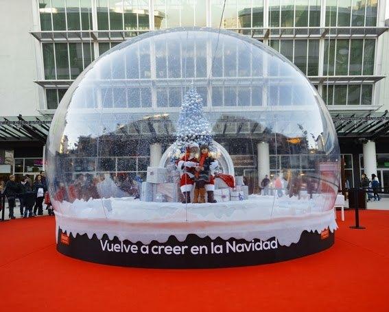Bola de nieve final, Evento Navidad 2013