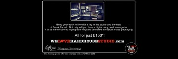 Don't miss out on this special offer with Frank Farrell inside We Love Hard House Studios supported by Cut2Vinyl