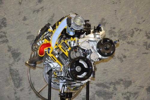 BG Engine Display