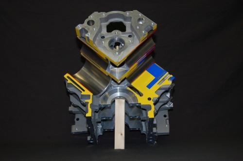 LS6 Cutaway Block