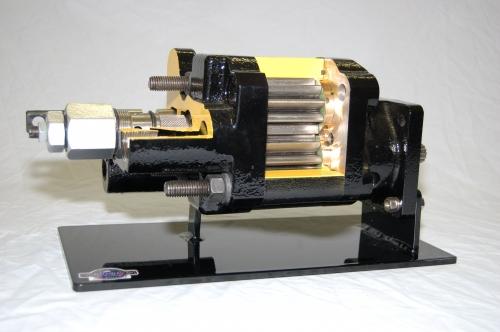 PTO-Driven Hydraulic Pump