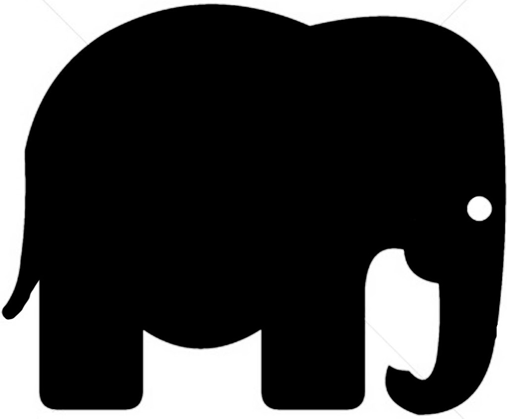 Elephant Pull Toy Card